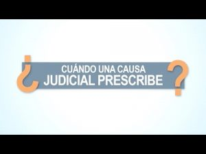 Noticiero Judicial: Cápsula Educativa - ¿Cuándo prescribe una causa?