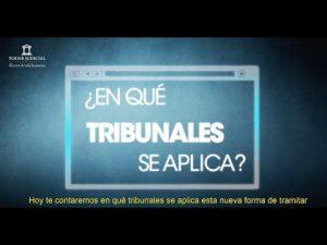 Noticiero Judicial: Cápsula Educativa - ¿En qué tribunales se aplica Ley Tramitación Electrónica?