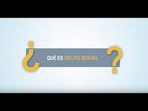 Noticiero Judicial: Cápsula educativa - ¿Qué es delito sexual?