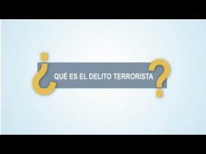 Noticiero Judicial: Cápsula educativa - ¿Qué es el delito terrorista?