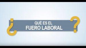 Noticiero Judicial: Cápsula Educativa - ¿Qué es el fuero laboral?