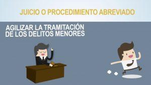 Noticiero Judicial: Cápsula Educativa - ¿Qué es el procedimiento abreviado?