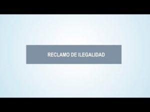 Noticiero Judicial: Cápsula educativa - ¿Qué es el recurso de ilegalidad?