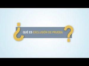 Noticiero Judicial: Cápsula Educativa - ¿Qué es exclusión de prueba?