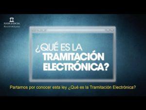 Noticiero Judicial: Cápsula Educativa - ¿Qué es la Tramitación Electrónica?