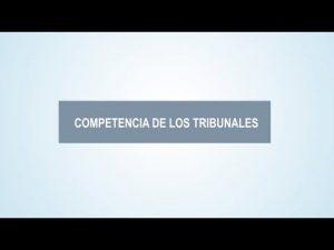 Noticiero Judicial: Cápsula Educativa - ¿Qué es la competencia de los tribunales?