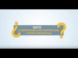 Noticiero Judicial: Cápsula Educativa - ¿Qué es la responsabilidad contractual y extra contractual?
