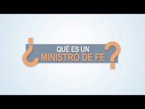 Noticiero Judicial: Cápsula Educativa - ¿Qué es un Ministro de fe?
