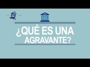 Noticiero Judicial: Cápsula Educativa - ¿Qué es una agravante?