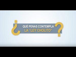 """Noticiero Judicial: Cápsula Educativa - ¿Qué penas contempla la """"ley Cholito""""?"""