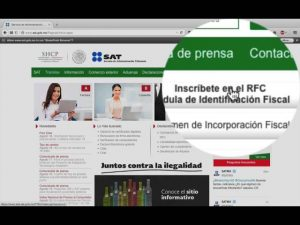 RFC (Registro Federal de Contribuyentes)