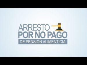 Noticiero Judicial: Cápsula Educativa - Arresto por no pago de pensión de alimentos