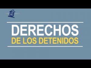 Noticiero Judicial: Cápsula educativa - Derechos de los detenidos
