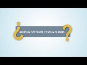Noticiero Judicial: Cápsula Educativa - Diferencia entre porte y tenencia de arma