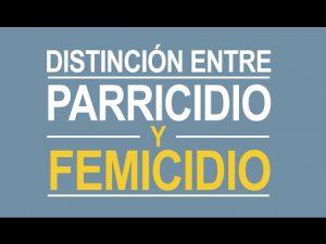 Noticiero Judicial: Cápsula educativa – Distinción entre femicidio y parricidio
