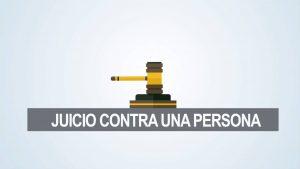 Noticiero Judicial: Cápsula educativa – Formalización en ausencia del imputado