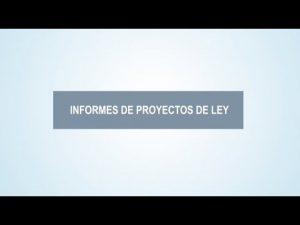 Noticiero Judicial: Cápsula educativa – Informes de proyectos de ley
