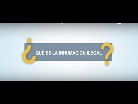 Inhumación ilegal