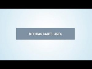 Noticiero Judicial: Cápsula educativa - Medidas cautelares