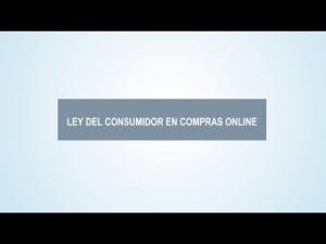 Ley de Protección del Consumidor en compras en online