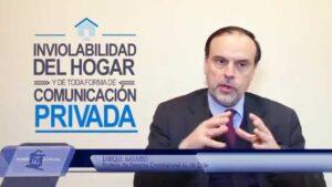 Noticiero Judicial, Cápsula Educativa: inviolabilidad del hogar y de toda forma de com. privada
