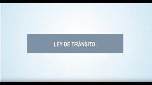 Noticiero Judicial: Cápsula educativa - Nuevos sistemas de transporte en la Ley de Tránsito