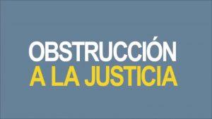 Noticiero Judicial: Cápsula Educativa - Obstrucción a la justicia
