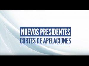 Noticiero Judicial: Cápsula educativa - Presidentes Cortes de Apelaciones 2016