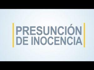 Noticiero Judicial: Cápsula Educativa - Presunción de inocencia