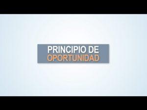 Noticiero Judicial: Cápsula Educativa - Principio de oportunidad