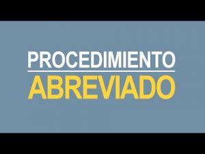 Noticiero Judicial: Cápsula Educativa - Procedimiento Abreviado