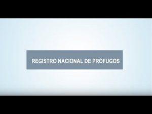 Noticiero Judicial: Cápsula educativa - Registro Nacional de Prófugos