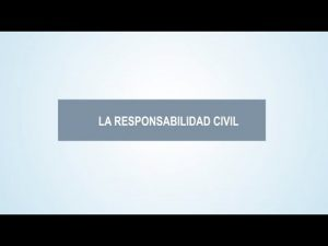 Noticiero Judicial: Cápsula educativa - Responsabilidad civil
